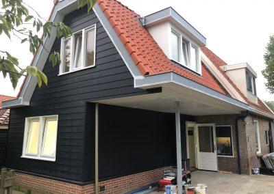 Aanbouw 2 verdiepingen in Andijk